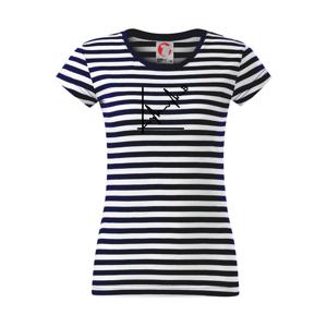EKG graf bitcoin - Sailor dámské triko
