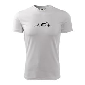 EKG kolečko - Dětské triko Fantasy sportovní (dresovina)