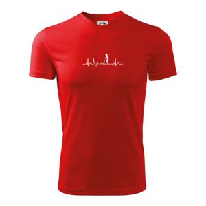 EKG kroket - Dětské triko Fantasy sportovní (dresovina)
