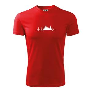 EKG les - Dětské triko Fantasy sportovní (dresovina)