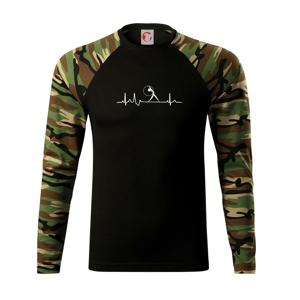 EKG moderní gymnastika obruč - Camouflage LS