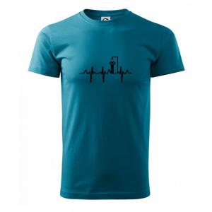 EKG otužování sprcha - Heavy new - triko pánské