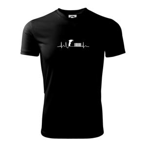 EKG prodavačka - Dětské triko Fantasy sportovní (dresovina)