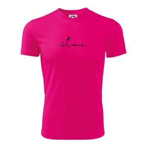 EKG skok do dálky - Dětské triko Fantasy sportovní (dresovina)