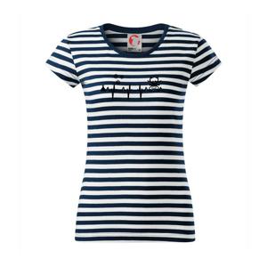 EKG Vánoce Vločky a sob - Sailor dámské triko