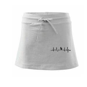 EKG vodní pólo - Sportovní sukně - two in one