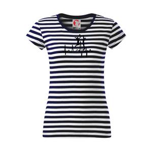 EKG volejbalistky - Sailor dámské triko
