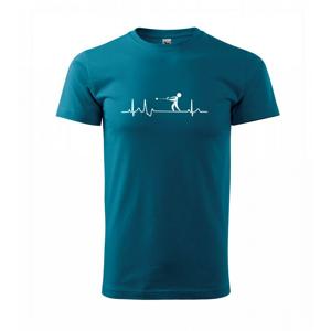 EKG vrh kladivem - Triko Basic Extra velké