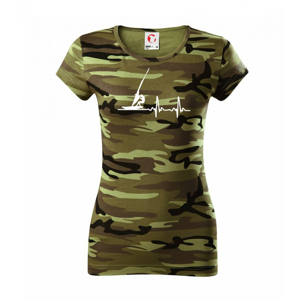 EKG Windsurfing - Dámské maskáčové triko