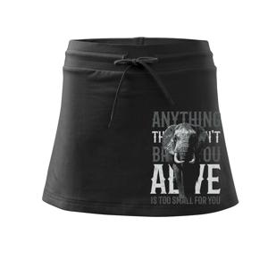 Elephant toosmall - Sportovní sukně - two in one