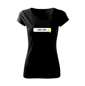 Emoji - i dont care - Pure dámské triko