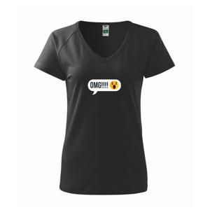 Emoji - OMG - Tričko dámské Dream