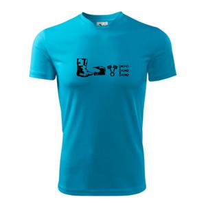 Enduro Love - Pánské triko Fantasy sportovní (dresovina)