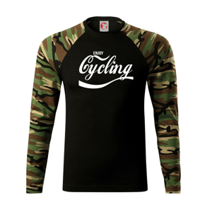 Enjoy Cycling - Camouflage LS