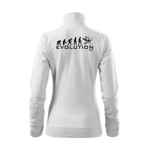 Evoluce lyžování - Mikina dámská Viva bez kapuce