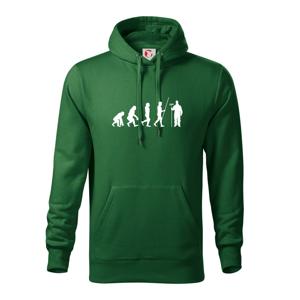 Evoluce malíř pokojů - Mikina s kapucí hooded sweater