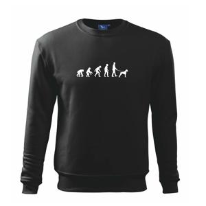 Evoluce pes boxer (muž-žena) - Mikina Essential dětská