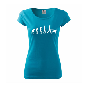 Evoluce pes - Pure dámské triko
