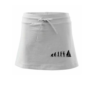 Evoluce plachtění - Sportovní sukně - two in one