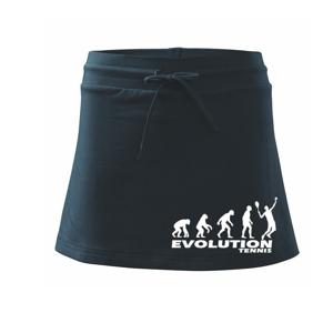 Evoluce tenis kluk - Sportovní sukně - two in one