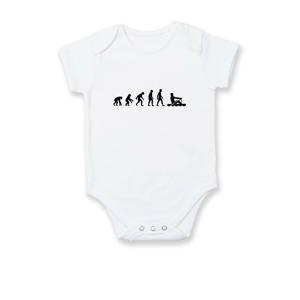 Evoluce veslování 1 človek - Body kojenecké