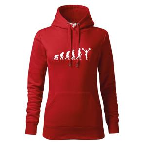 evolution cheerleading - roztleskávačka - Mikina dámská Cape s kapucí