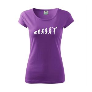 evolution cheerleading - roztleskávačka - Pure dámské triko