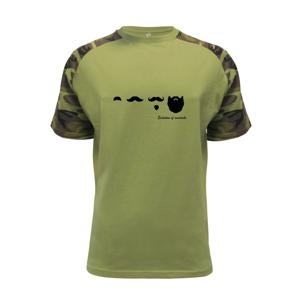 Evolution mustache - Raglan Military