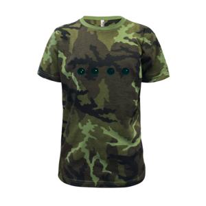 Evolution squash muž-žena - Dětské maskáčové triko