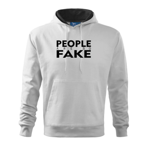 Fake people - Mikina s kapucí hooded sweater
