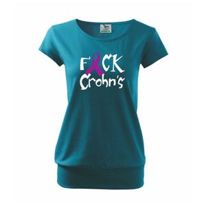 F*ck Crohns - Volné triko city