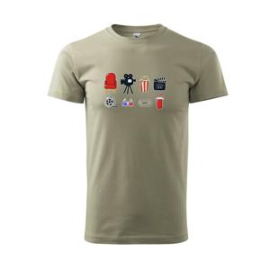 Filmové triko - Triko Basic Extra velké