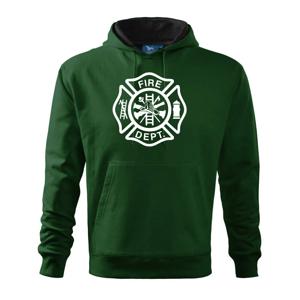 Fire dept. logo - Mikina s kapucí hooded sweater