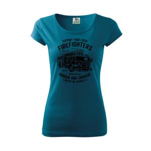 Fire Fighters Truck - Pure dámské triko