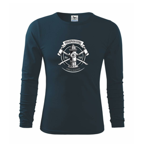Firefighter logo Fire and rescue - Triko s dlouhým rukávem FIT-T long sleeve
