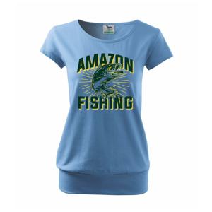 Fish fishing - Volné triko city