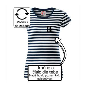 Florbalový  dres - vlastní jméno a číslo - Sailor dámské triko