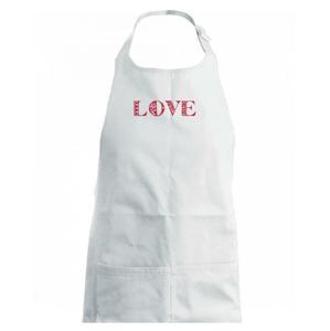 Folklor - LOVE - Dětská zástěra na vaření