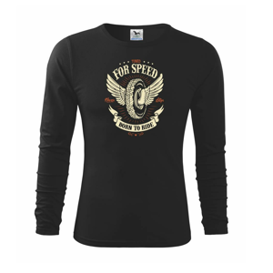 For speed - born to ride - Triko dětské Long Sleeve