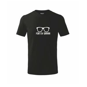 Forever - párty brýle - Triko dětské basic