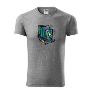 Foťák barevný starý - jedna čočka - Replay FIT pánské triko