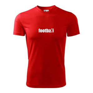 Fotbal nápis - Pánské triko Fantasy sportovní