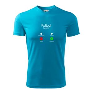 Fotbal volá - Pánské triko Fantasy sportovní (dresovina)