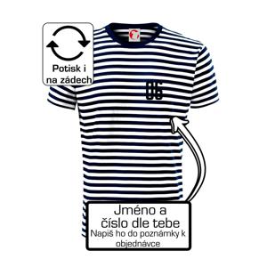 Fotbalový dres - vlastní jméno a číslo - Unisex triko na vodu