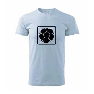 Fotbalový míč emblem - Heavy new - triko pánské