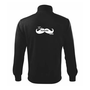 Free Mustache rides - Mikina bez kapuce Adventure