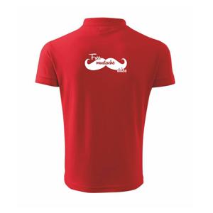 Free Mustache rides - Polokošile pánská Pique Polo 203