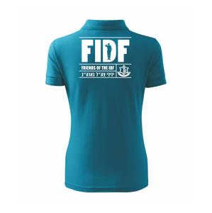 Friends Of the IDF (FIDF) - Polokošile dámská Pique Polo