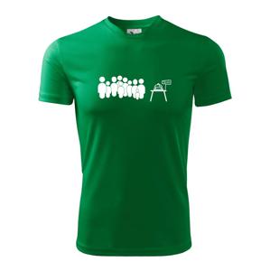 Fronta na máslo - Pánské triko Fantasy sportovní (dresovina)