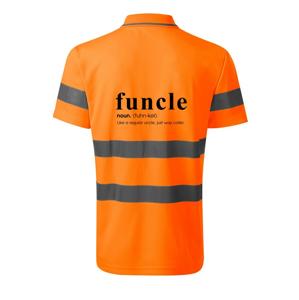 Funcle - cooler uncle - HV Runway 2V9 - Reflexní polokošile